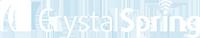 Crystal Spring - Logo White