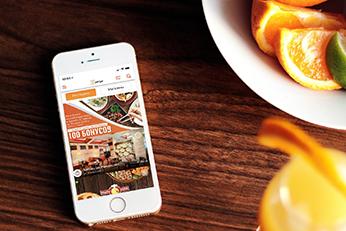 Zenge - приложение для заказа еды и бронирования столико - Crystal Spring