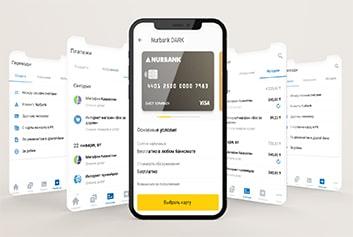 Приложение Мобильный банкинг Nurbank - Crystal Spring